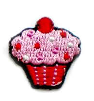 Cupcake applicatie roze