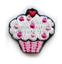 Cupcake applicatie wit
