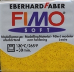 FIMO SOFT metallic-goud 112