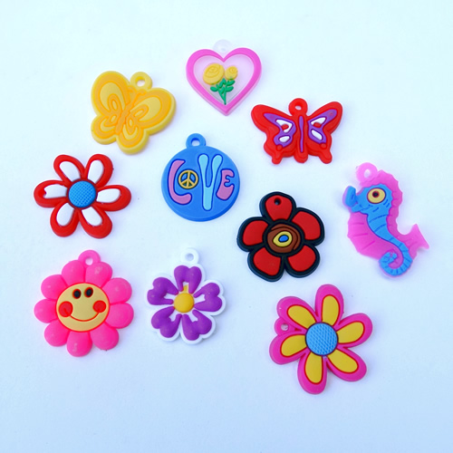Loom charms mix bloem