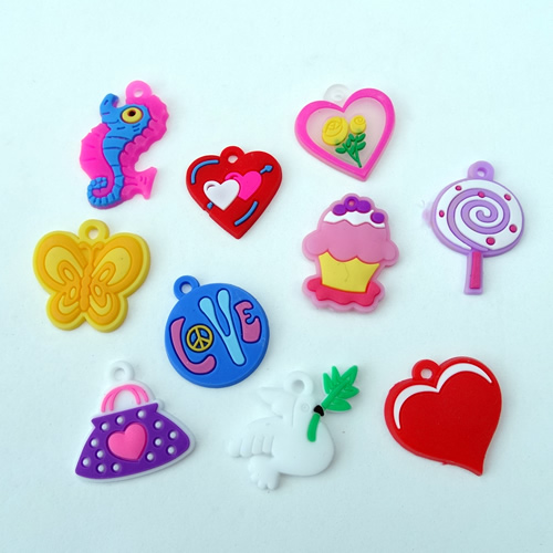 Loom charms mix lief
